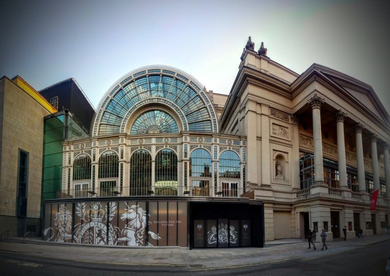 The Royal Opera House Open Up Refurbishment