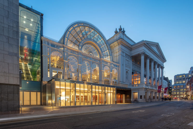 Royal Opera House 'Open Up' Project