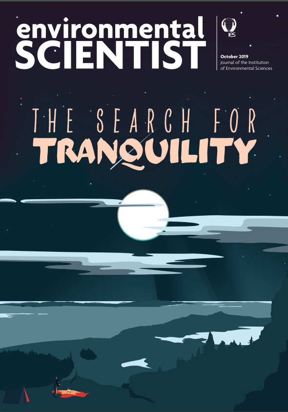 The search for tranquility-the Environmental Scientist