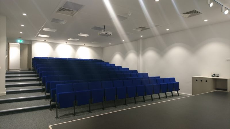 Alban City School's lecture theatre